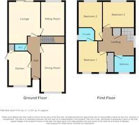 Floorplan 1 of 1 for 2 Wellesley Close