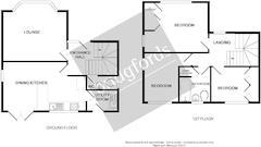 Floorplan 1 of 1 for 1 Crown Gardens
