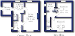 Floorplan 1 of 1 for 1 Lawn Walk
