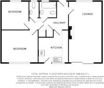 Floorplan 1 of 1 for 1 Cowling Road