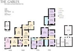 Floorplan 1 of 1 for The Gables, Park Street
