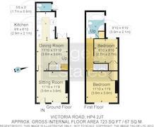 Floorplan 1 of 1 for 8 Victoria Road