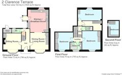 Floorplan 1 of 1 for 2 Clarence Terrace
