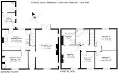 Floorplan 1 of 1 for 2, Manor Farm Cottages, Launton Road