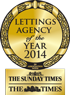 2014 Lettings Agency of the year awards