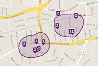 Pinpoint exactly where to live by using our SmartMaps search